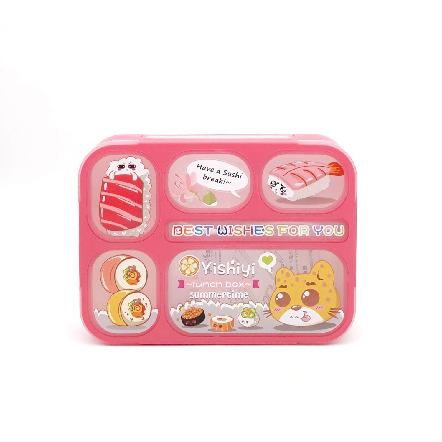 Lunch Box Yooyee Grid Bento 5 Sekat