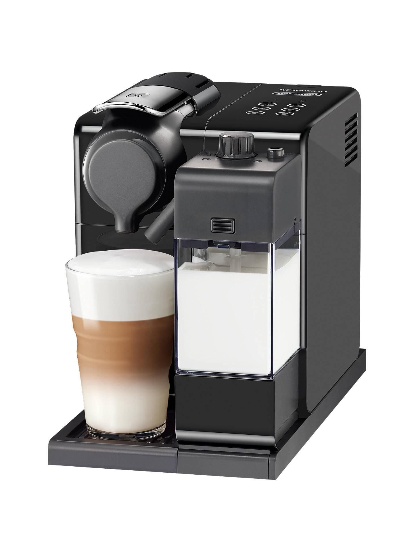 Mesin Kopi Nespresso Lattissima Touch Black