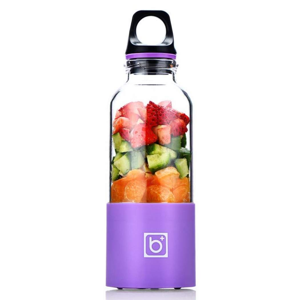 Electric Juicer Cup Mini Portable USB Rechargeable