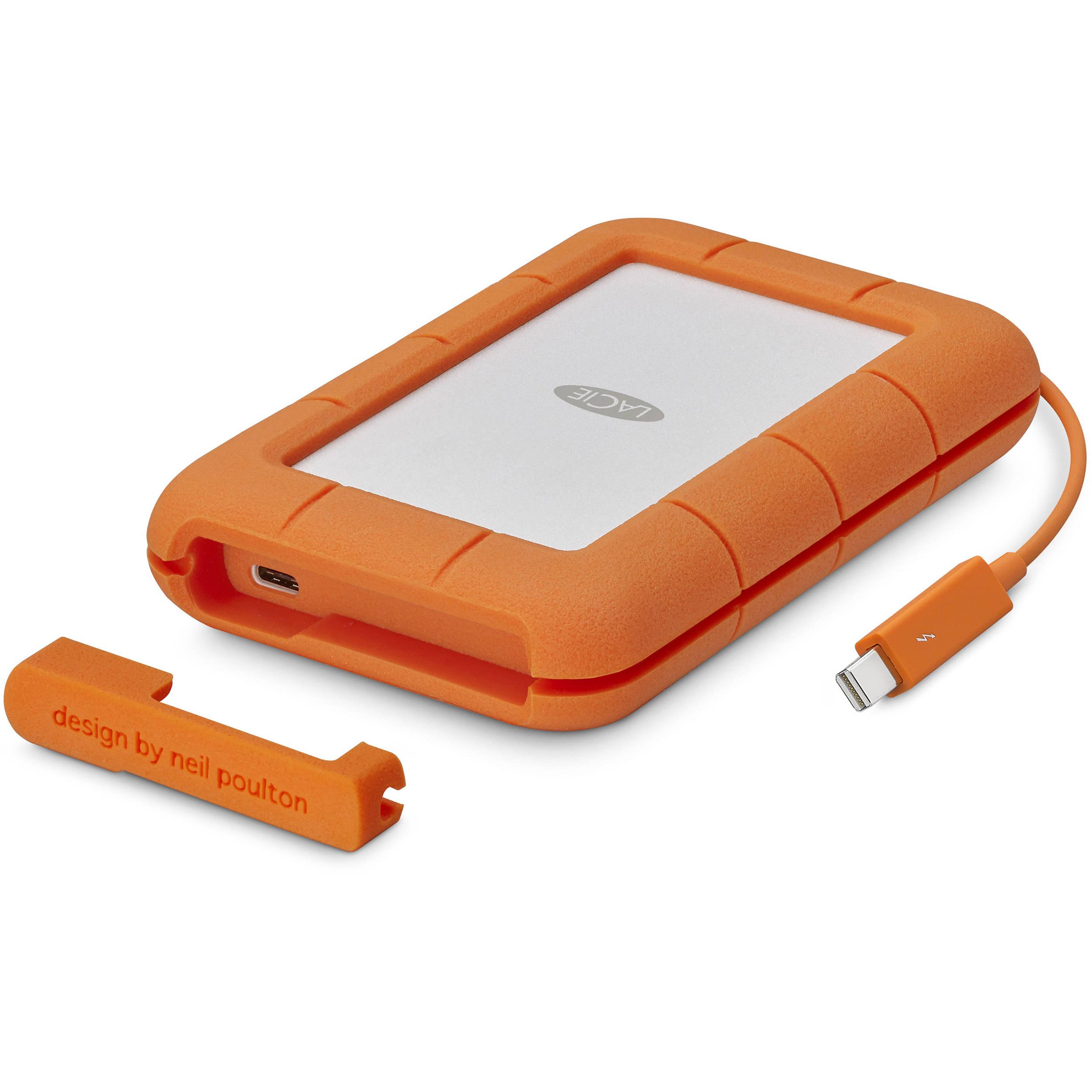 LaCie Rugged Thunderbolt USB-C