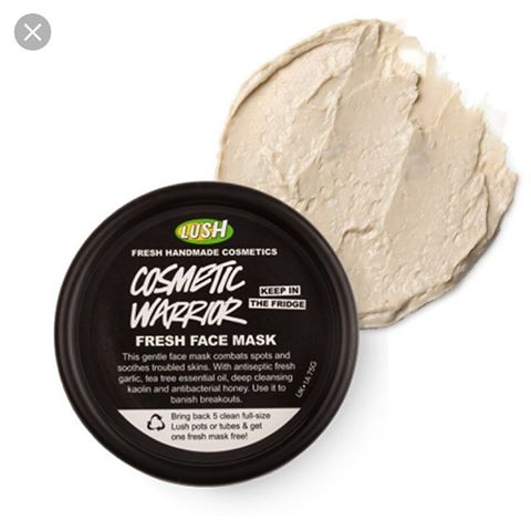 Lush Handmade Cosmetic Warrior Fresh Face Mask