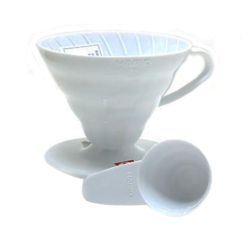 Hario V60 Plastic Coffee Dripper 01 White VD-01W