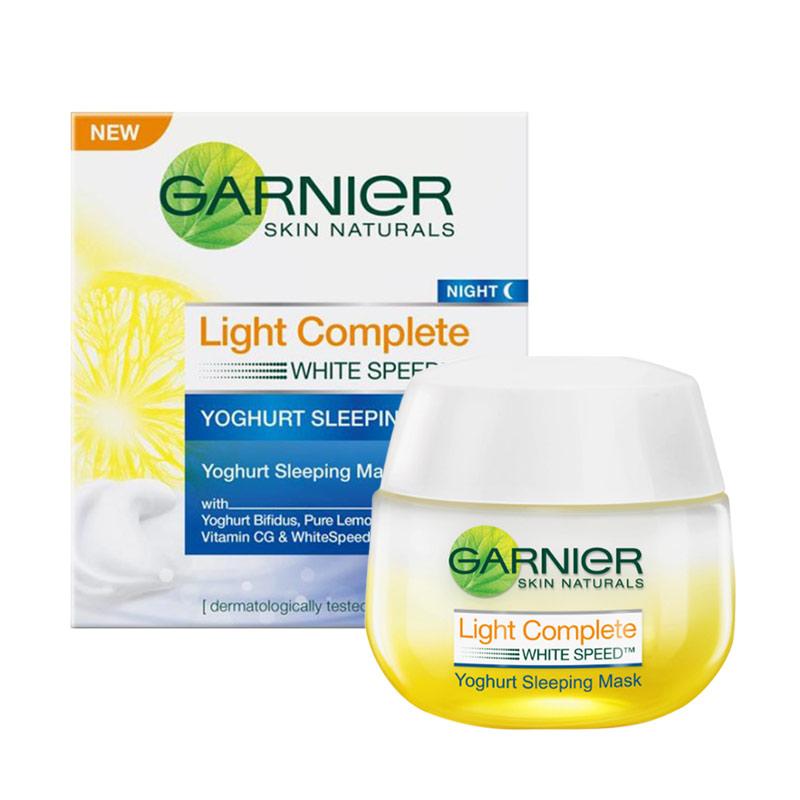 Garnier Light Complete Night Yoghurt Sleeping Mask