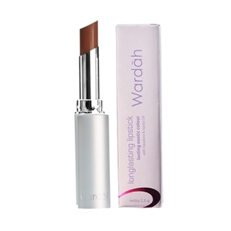 Wardah Long Lasting Lipstick – Simply Brown