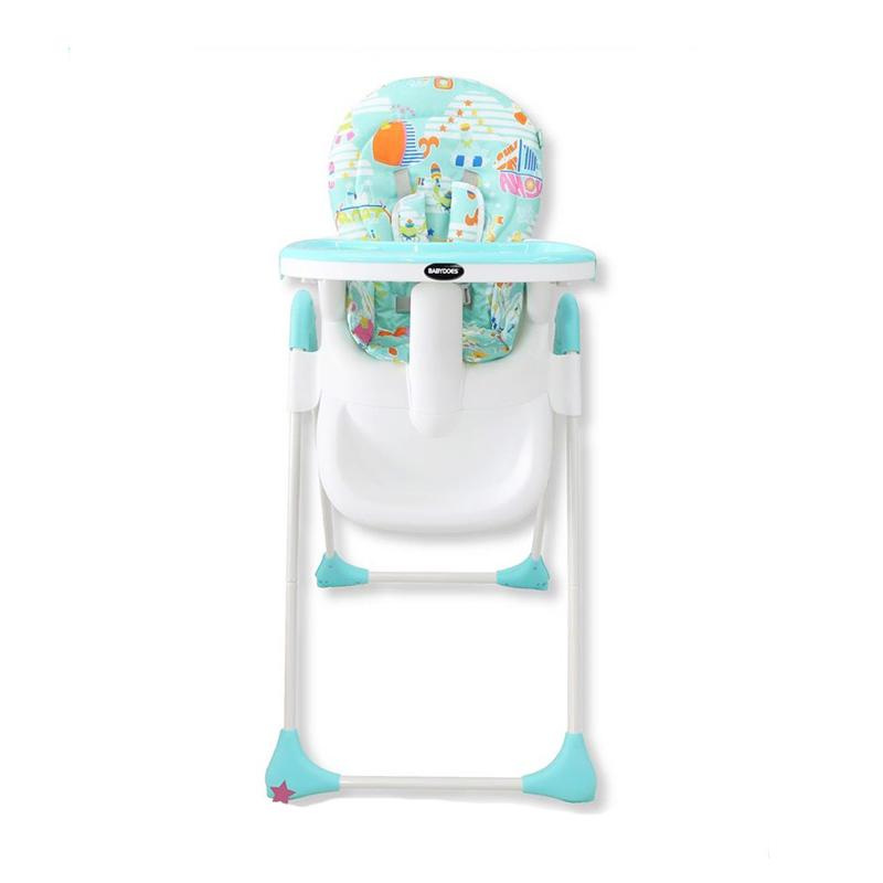 BabyDoes Happy Dino Socca High Chair