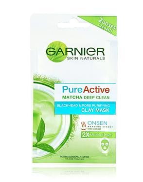 Garnier Pure Active Matcha Deep Clean Clay Mask