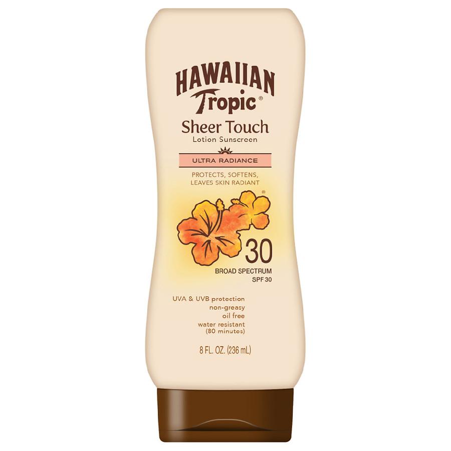Hawaiian Tropic Sheer Touch Ultra Radiance Sunscreen Lotion SPF 30