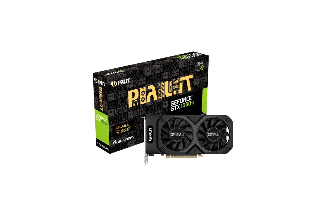 PALIT GeForce GTX 1050 Ti 4 GB DDR5