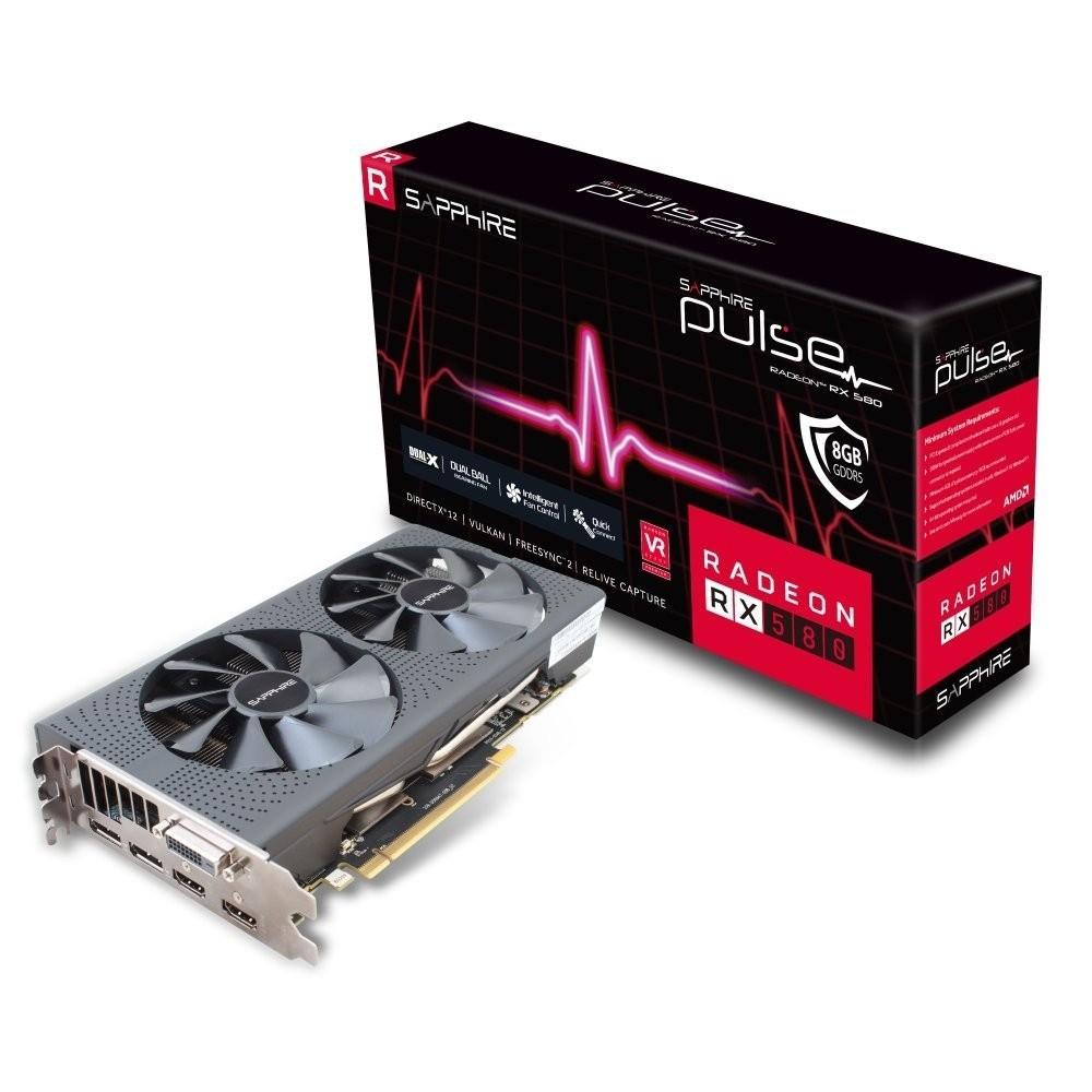 Sapphire Radeon RX 580 8 GB DDR5