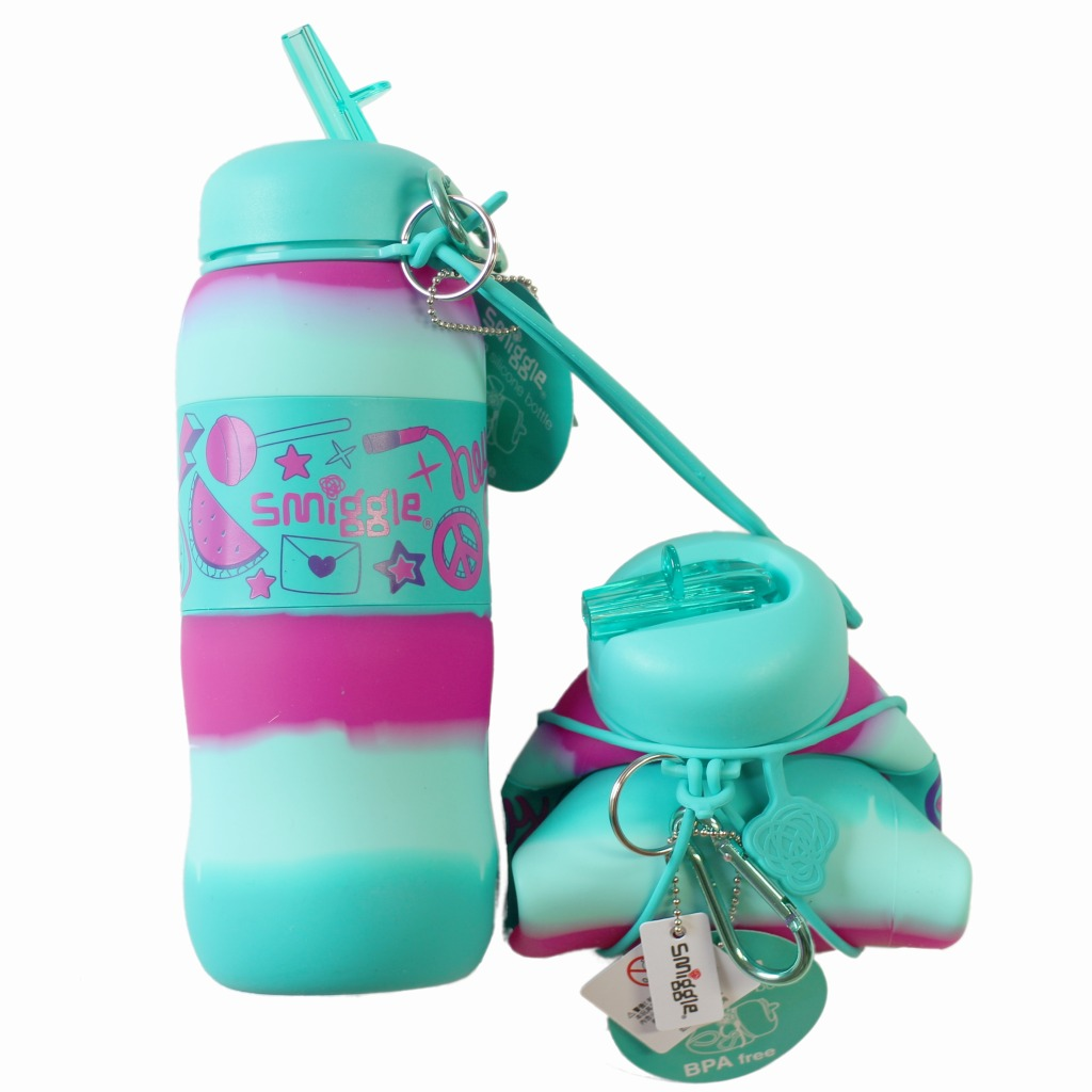 Smiggle Says Silicone Roll Bottle