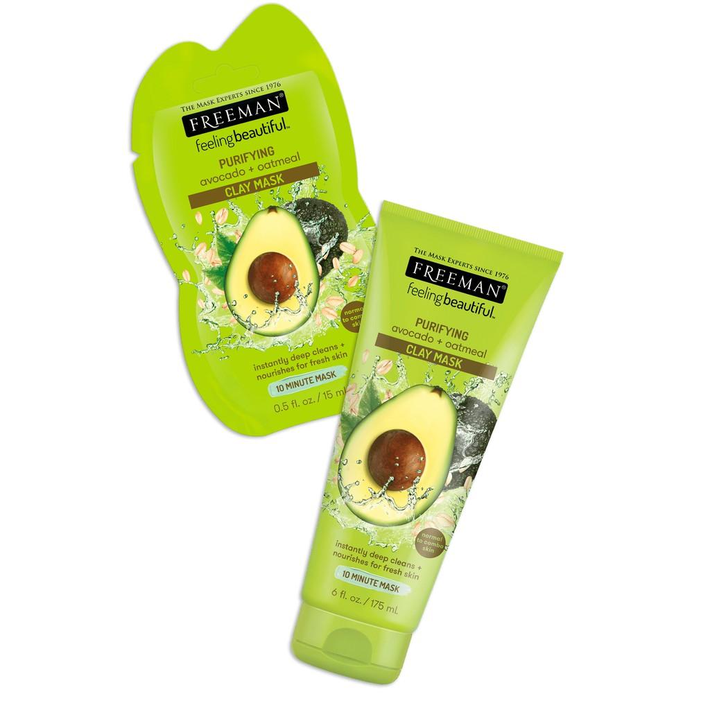 Freeman Avocado + Oatmeal Clay Mask