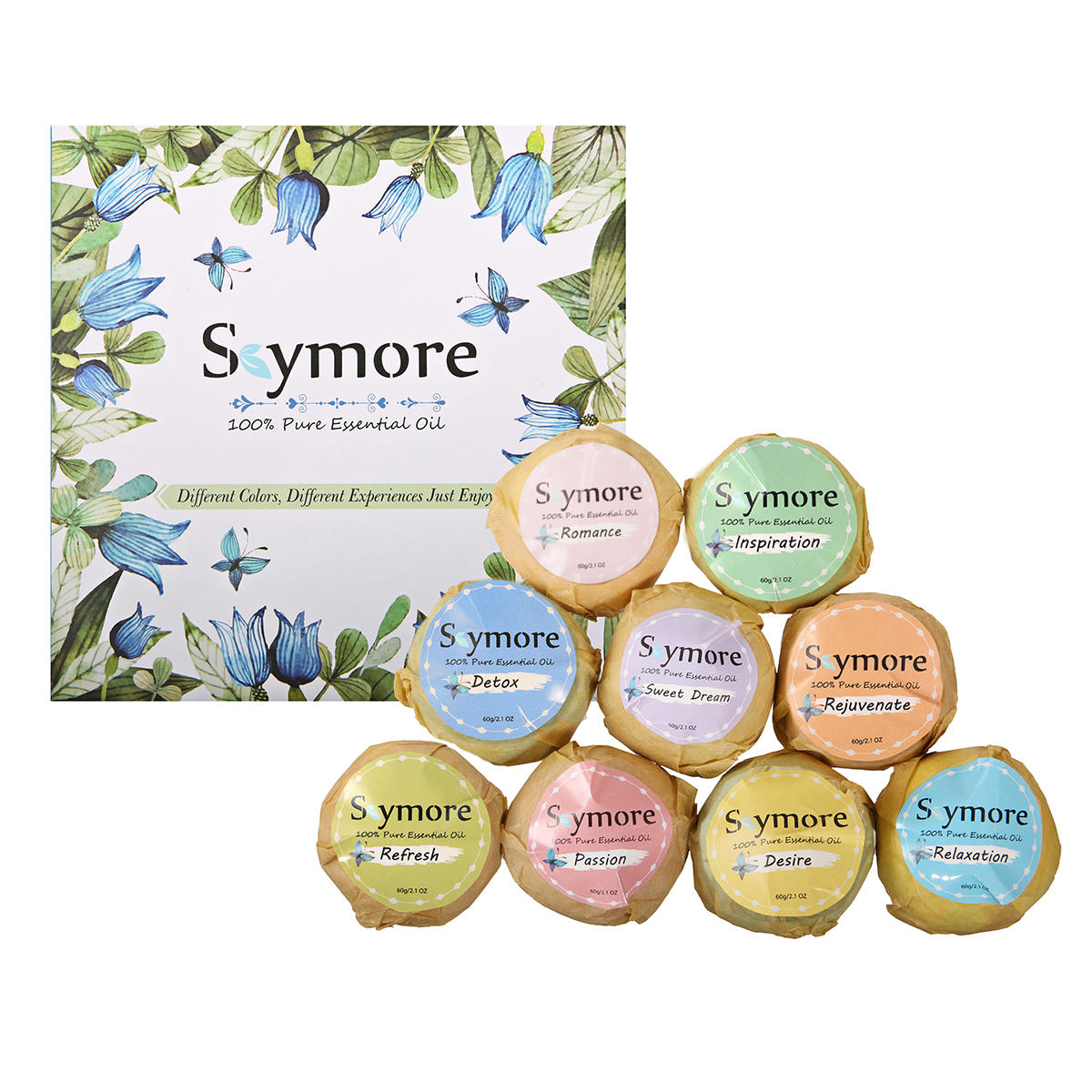 Skymore 9PCS Bath Bomb Gift Set