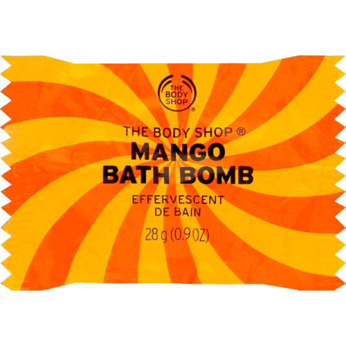 The Body Shop Mango Bath Bomb