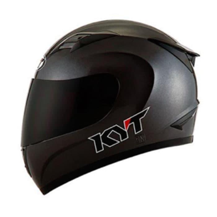 KYT R10 Solid – Black Matte