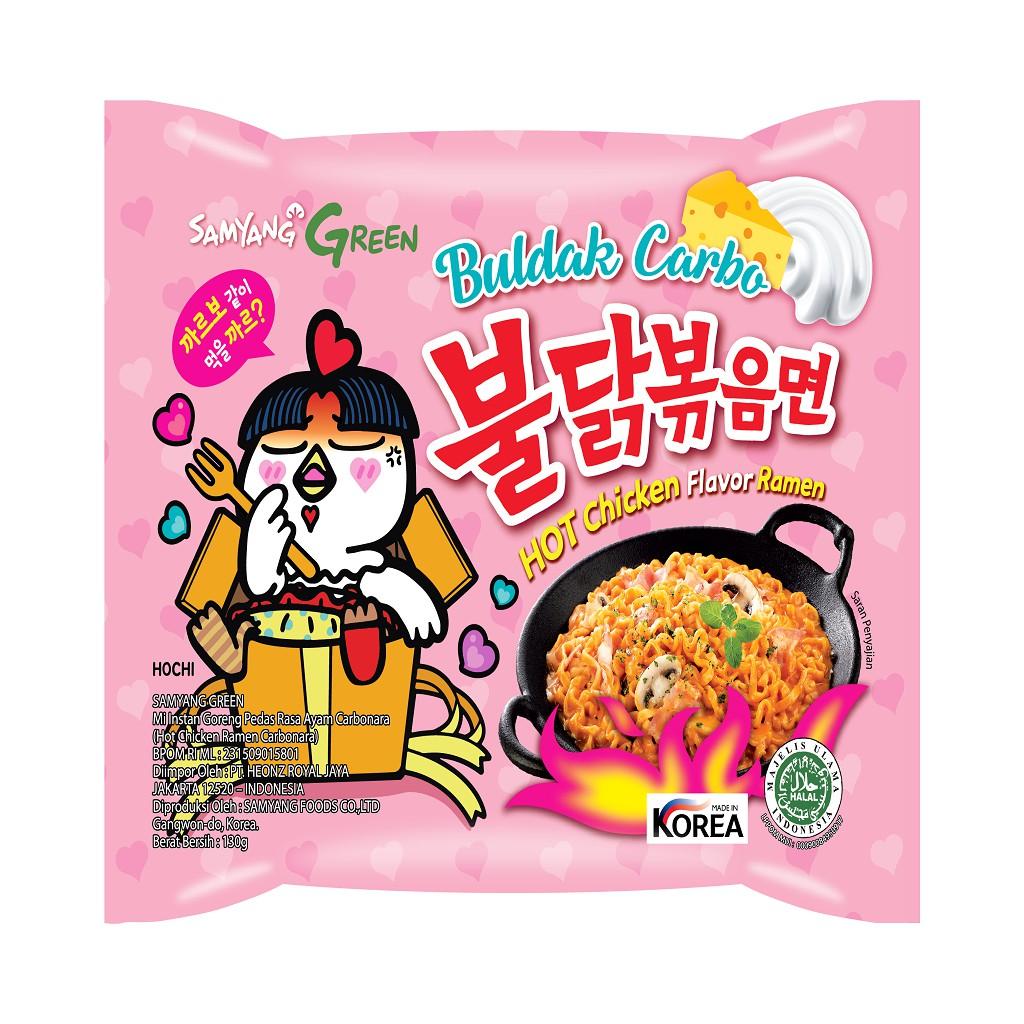Samyang Carbo Hot Chicken Flavor Ramen