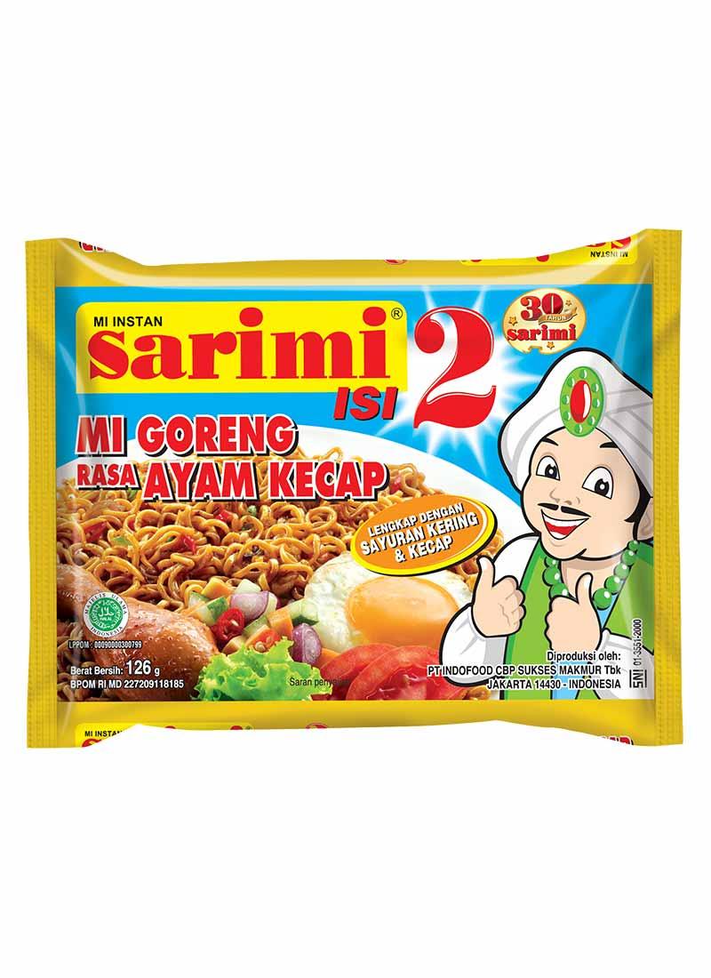 Sarimi Isi 2 Mie Goreng Rasa Ayam Kecap