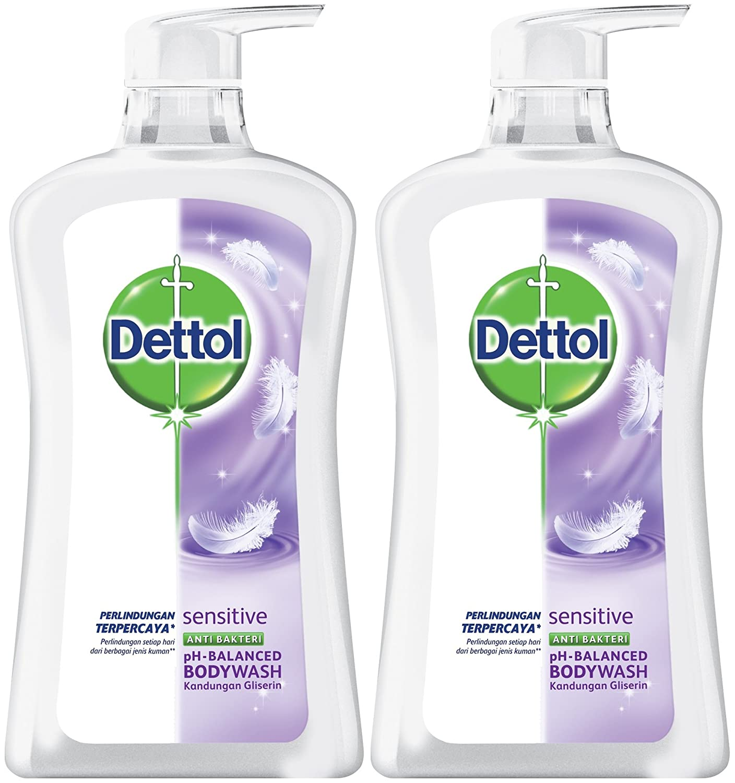 Dettol Anti Bacterial Sensitive Body Wash