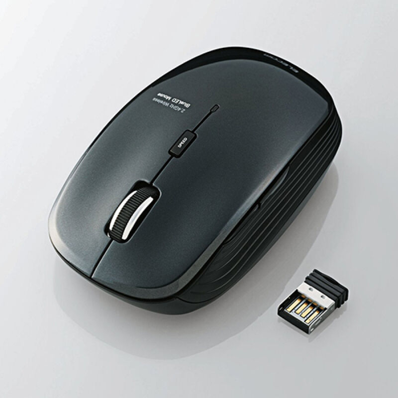 Elecom 5 Button Wireless Blue LED Mouse