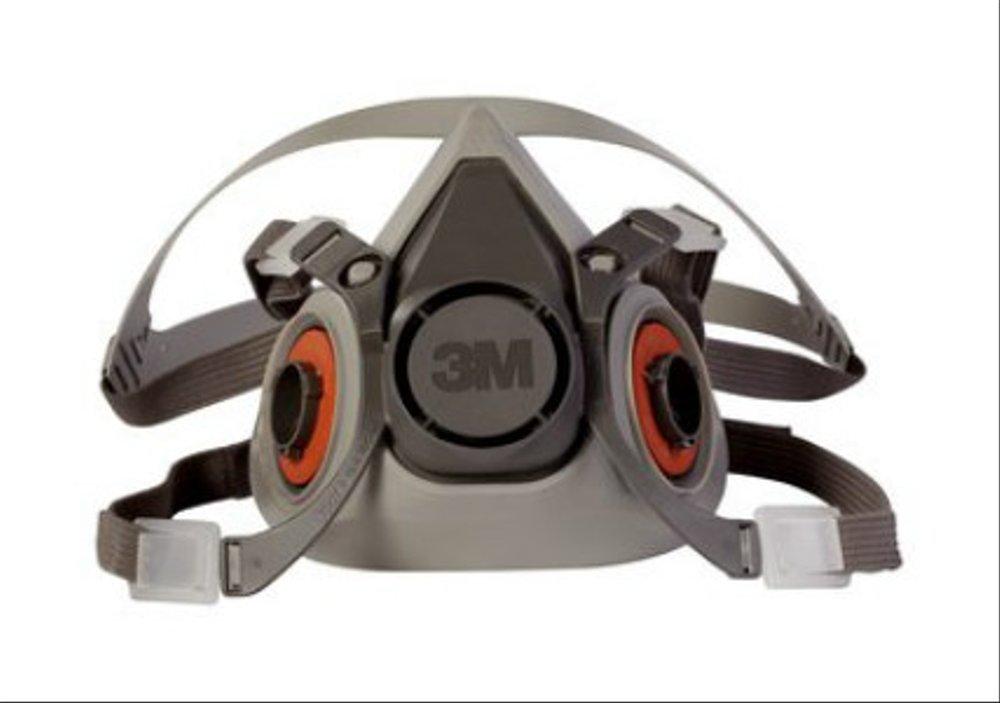 3M Half Facepiece Reusable Respirator 6200/07025 (AAD) Medium 24 EA/Case