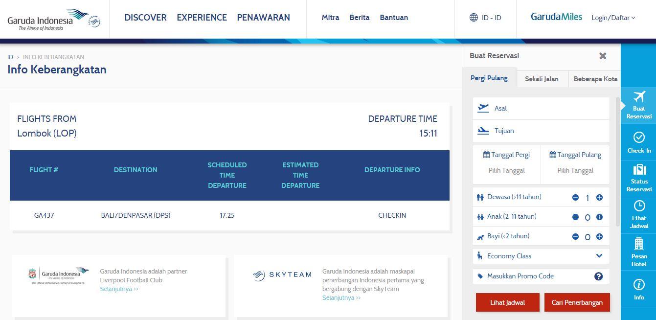 Garuda Indonesia Promo