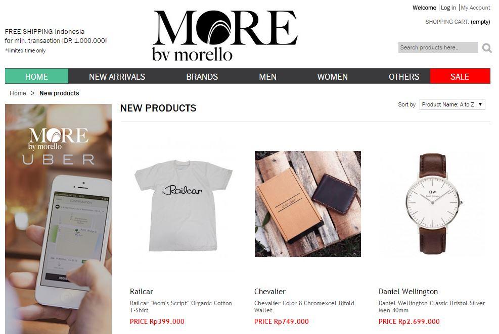 kode voucher more by morello dan promo diskon
