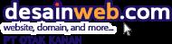 Logo desainweb.com