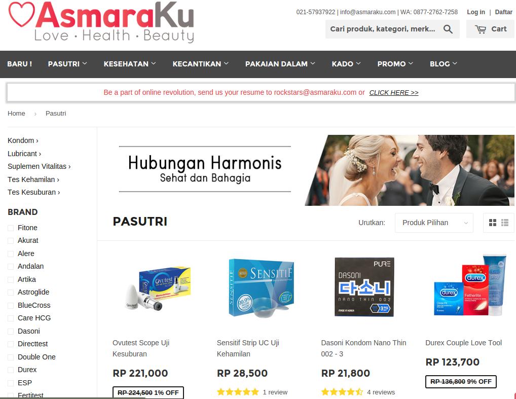 asmaraku-website