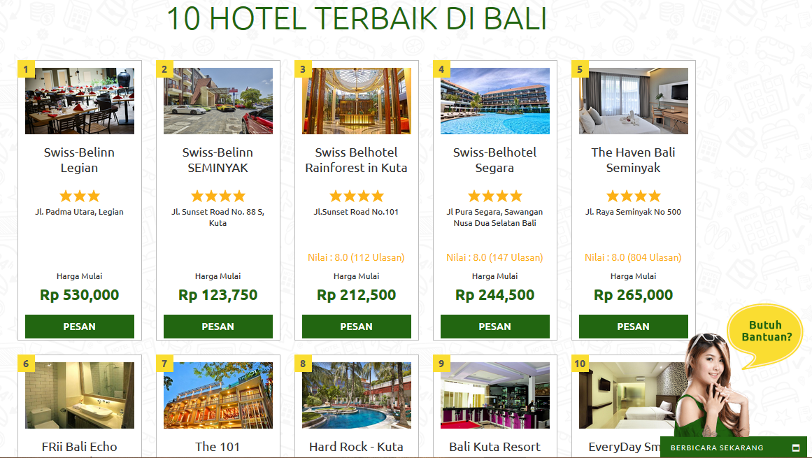 promo rajakamar voucher hotel murah