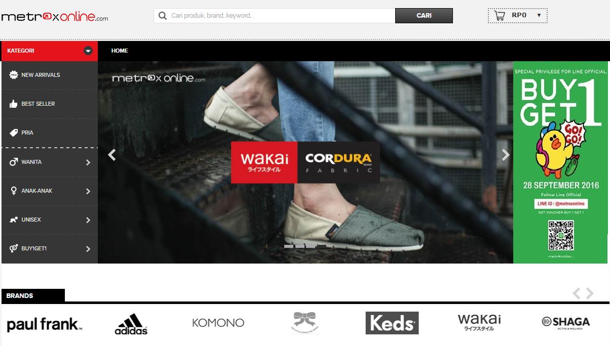 Kode Voucher Metrox Online Indonesia dan promo diskon