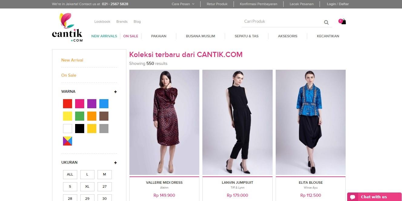 Kode Voucher Cantik.com dan Promo Diskon
