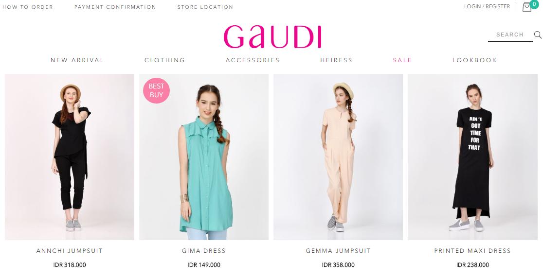 Promo Diskon Gaudi Clothing