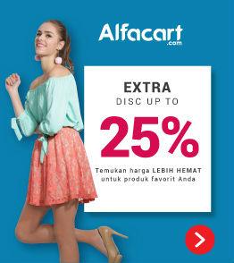 Kode Voucher Alfacart 25% Khusus untuk Produk Fashion