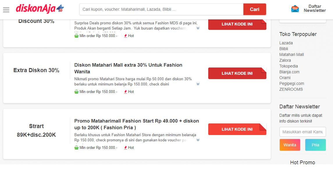 kode promo adidas online