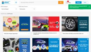 Voucher Blibli Online Shop