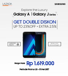 Beli Samsung Galaxy  Dapat  Diskon Extra Diskon 2.5%