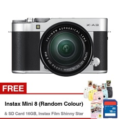 Fujifilm X-A3 Mirrorless Camera with XC 16-50mm Lens - 24.2MP - Compatible with Fujifilm App - Wifi