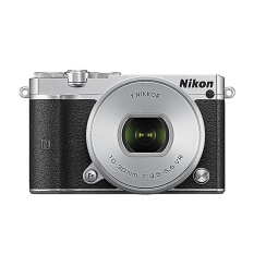 Nikon 1 J5 10-30mm VR KIT - 20.8 MP - Koneksi WIFI/NFC - Silver