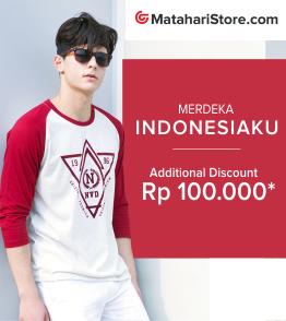 Exclusive Diskon Extra Rp 100.000 ( Matahari Departement Store )