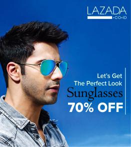 Kacamata Paling Trendy dan Paling Laris Diskon Hingga 70% OFF