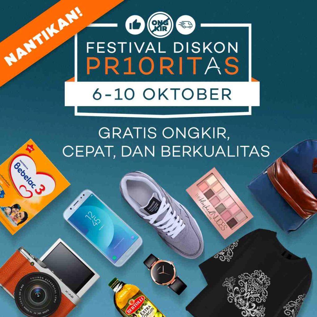 Festival Diskon PR10RITAS