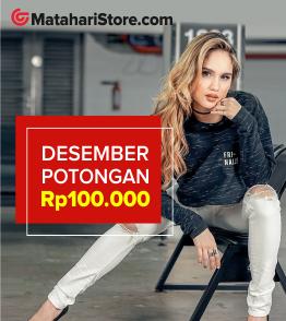 Vouhcer Exclusive Rp 100.000 Matahari Store