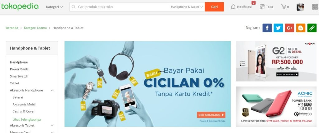 belanja online aman di Tokopedia