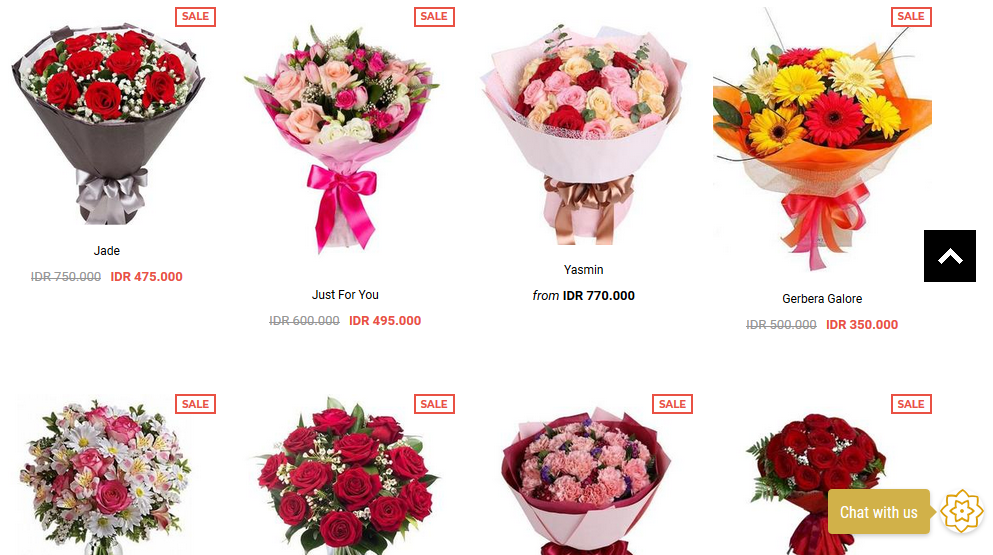 Diskon Flower Chimp
