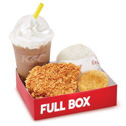 Promo KFC Paket Full Box Hot Crispy Chicken Rp 32.273
