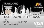 Applied Kartu kredit Mega Travel Card, bonus 10,000 Mega Mileage Point