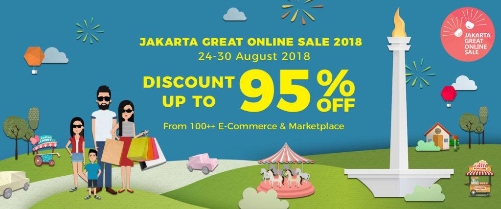 JGOS Jakarta Great Online Sale 2018