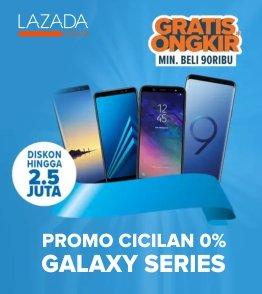 Samsung Produk Juara, Garansi Resmi + diskon up to 40% untuk Handphone Samsung!