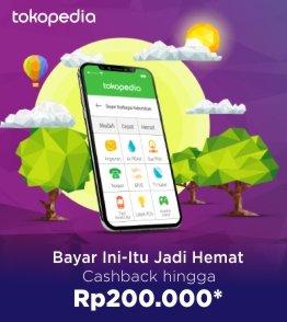 Tokopedia Cashback hingga Rp 200.000 untuk produk Digital di bulan Juli