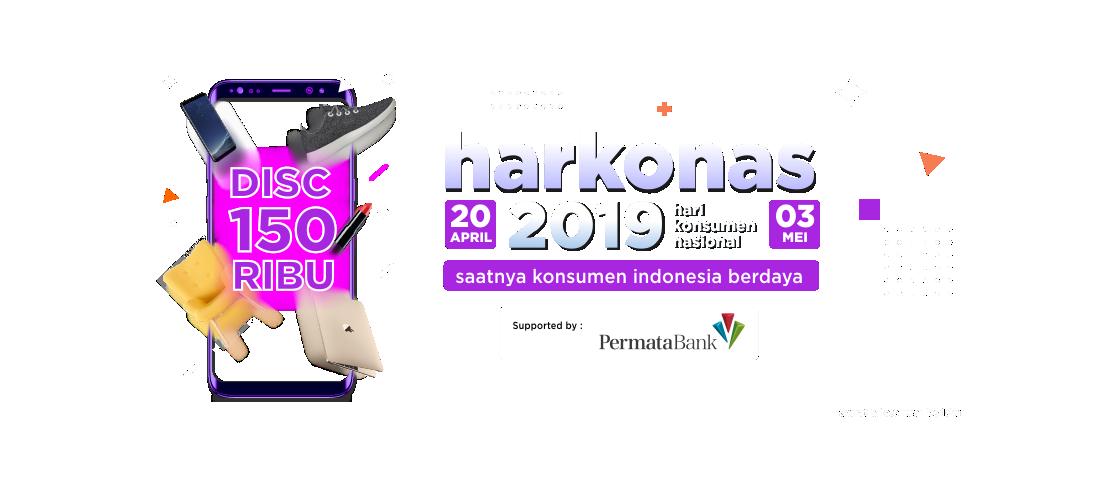 Belanja Murah Dengan Kode Promo di Harkonas 2019