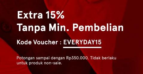 Extra Discount 15%